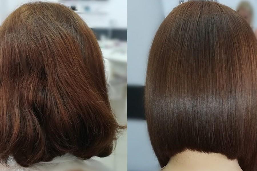 Выпрямление волос в Москве